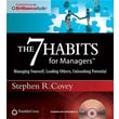 Franklin Covey® in.The 7 Habits for Managersin. Audio CD