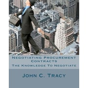 "Createspace™ ""Negotiating Procurement Contracts"" Paperback Book"
