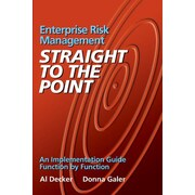 """Createspace™ """"Enterprise Risk Management - Straight to the Point"""" Paperback Book"""