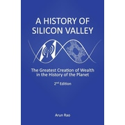"Createspace™ ""A History of Silicon Valley"" Paperback Book"