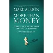 """Berrett-Koehler® """"More Than Money"""" Hardcover Book"""