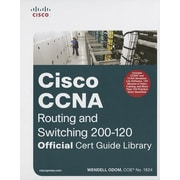 "Cisco Press ""CCNA Routing and Switching 200-120 Official Cert Guide Library"" Book"