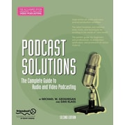 "Apress® ""Podcast Solutions: The Complete Guide to Audio and Video Podcasting"" Book"