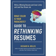 "Ten Speed Press ""What Color Is Your Parachute? Guide to Rethinking Resumes"" Book"