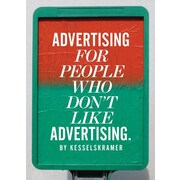 "Laurence King ""Advertising for People Who Don't Like Advertising"" Paperback Book"