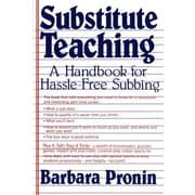 """St. Martin's Griffin """"Substitute Teaching: A Handbook for Hassle-Free Subbing """" Paperback Book"""