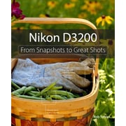 "Peachpit Press ""Nikon D3200: From Snapshots to Great Shots"" Book"