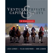 John Wiley & Sons Venture Capital and Private Equity: A Casebook Hardcover Book