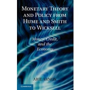 """Cambridge University Press """"Monetary Theory and Policy from Hume and Smith..."""" Hardcover Book"""