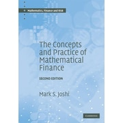 """Cambridge University Press """"The Concepts and Practice of Mathematical Finance"""" Hardcover Book"""