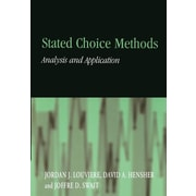 "Cambridge University Press ""Stated Choice Methods "" Paperback Book"