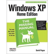 "Pogue Press ""Windows XP Home Edition: The Missing Manual, 2nd Edition"" Book"