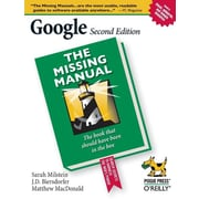 "O'Reilly Media® ""Google: The Missing Manual"" Book"
