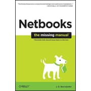 "O'Reilly Media® ""NetBooks: The Missing Manual"" Book"