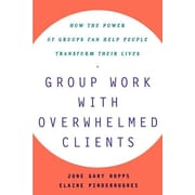 """Free Press """"Group Work with Overwhelmed Clients"""" Paperback Book"""