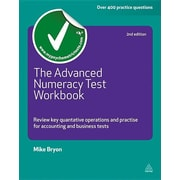 "Kogan Page ""The Advanced Numeracy Test Workbook"" Book"