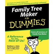 "For Dummies® ""Family Tree Maker For Dummies"" Book"