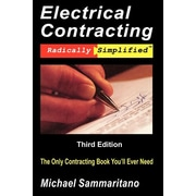 "Adesso Publishing ""Electrical Contracting"" Paperback Book"