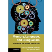 """Cambridge University Press """"Memory, Language, and Bilingualism: Theoretical and A.."""" Hardcover Book"""