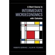 """Cambridge University Press """"A Short Course in Intermediate Microeconomics..."""" Hardcover Book"""