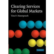 """Cambridge University Press """"Clearing Services for Global Markets"""" Paperback Book"""