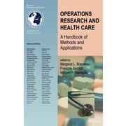 "Springer ""Operations Research and Health Care"" Hardcover Book"