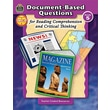 Teacher Created Resources in.Document-Based Questions for Reading Compreh..in. Paperback Book, Grade 5th