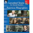 Shell Education in.Leveled Texts for Social Studies: American Biogra..in. Paperback Book, Grade 1st-8th