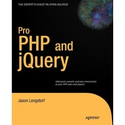 """Apress® """"Pro PHP and jQuery"""" Book"""