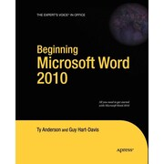 "Apress® ""Beginning Microsoft Word 2010"" Book"