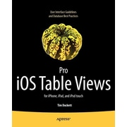 """Apress® """"Pro IOS Table Views: For iPhone, iPad, and iPod Touch"""" Book"""
