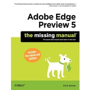 "Pogue Press ""Adobe Edge Preview 5: The Missing Manual"" Book"