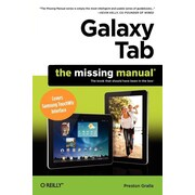 "O'Reilly Media® ""Galaxy Tab: The Missing Manual"" Book"