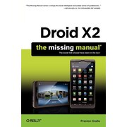 """Pogue Press """"Droid X2: The Missing Manual, 2nd Edition"""" Book"""