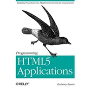 "O'Reilly Media® ""Programming HTML5 Applications"" Book"
