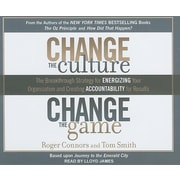 "Tantor Media ""Change the Culture, Change the Game"" Audio CD"