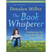 "Tantor Media ""The Book Whisperer: Awakening the Inner Reader in Every.."" MP3 CD Audiobook, Grade 6th"