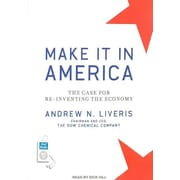 "Tantor Media ""Make It in America"" MP3 Audio CD"