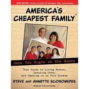 "Tantor Media ""America's Cheapest Family Gets You Right on the Money"" MP3 Audio CD"