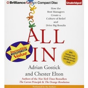 "Brilliance Audio ""All In"" Audio CD"