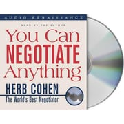 "MacMillan Audio ""You Can Negotiate Anything"" Audio CD"