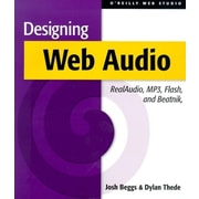 "O'Reilly Media® ""Designing Web Audio [W/CD-ROM]"" Book"