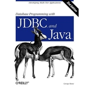 "O'Reilly Media® ""Database Programming with JDBC & Java"" Book"