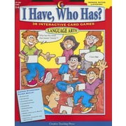 "Creative Teaching Press ""I Have, Who Has? Language Arts"" Paperback Book, Grade 5th-6th"