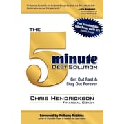 "Morgan James ""The 5-Minute Debt Solution"" Paperback Book"