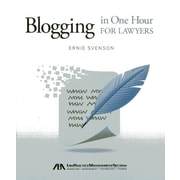 "American Bar Association ""Blogging in One Hour for Lawyers"" Paperback Book"