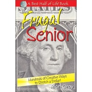 "Quill Driver Books ""The Frugal Senior"" Paperback Book"