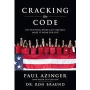 "Looking Glass Books ""Cracking the Code: The Winning Ryder Cup Strategy"" Hardcover Book"