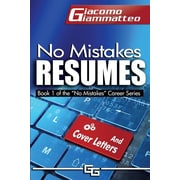 "Inferno Publishing Company ""No Mistakes Resumes"" Book"