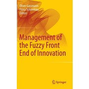 """Springer """"Management of the Fuzzy Front End of Innovation"""" Hardcover Book"""